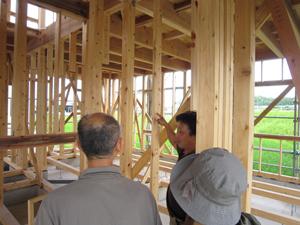 日本の風土に適した木造軸組在来工法